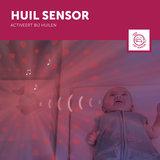 Baby Zazu lichtprojector Wally met muziek huil sensor