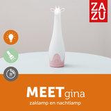 Zazu Gina Giraf Roze Zaklamp en Nachtlampje