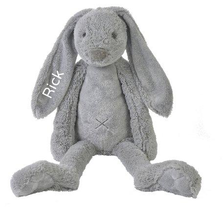 Knuffel Rabbit Richie Grey met naam