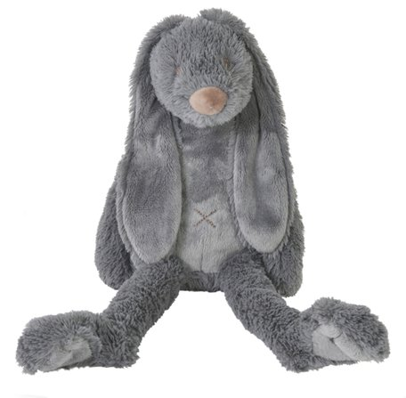 Knuffel Rabbit Richie Deep Grey 38 cm