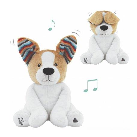 Knuffel Zazu Danny de Hond Kiekeboe met Muziek