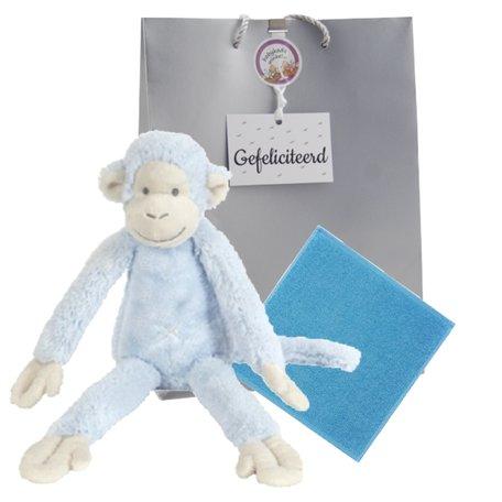 Knuffel Monkey Mickey Blue