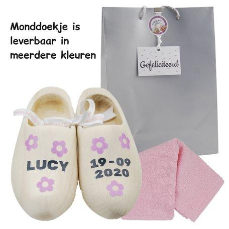 Babypakketje geboorteklompjes meisje