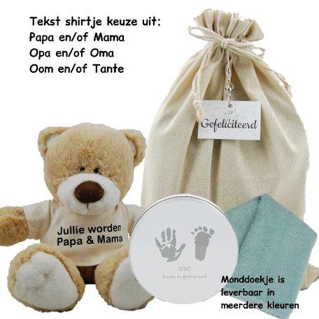 Baby Cadeauset Beertje Boris Jullie worden
