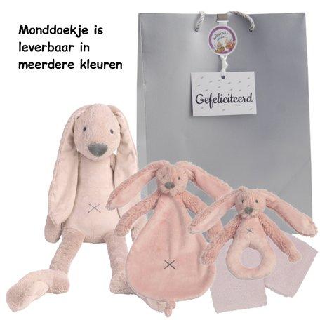 Baby cadeau Rabbit Richie Old Pink
