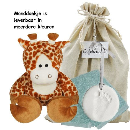 Baby Cadeauset Girafje