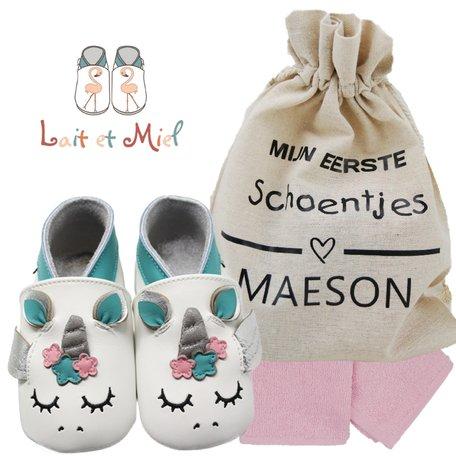 Babyslofjes Lait et Miel Unicorn 0-6 maand