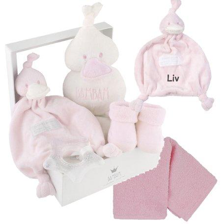 BamBam Babycadeau pink met naam