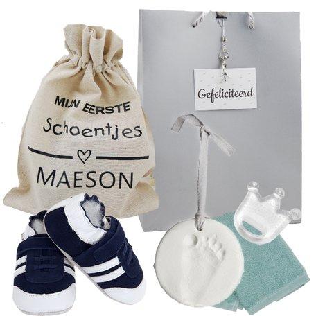 Babyslofjes Lait et Miel Navy Sneakers 0-6 maand