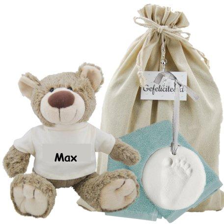 Baby Cadeauset Beertje Bella met naam