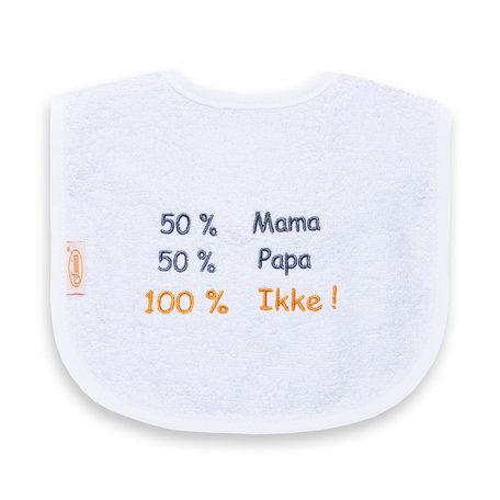 Slab 50% mama + 50% papa = 100% ikke