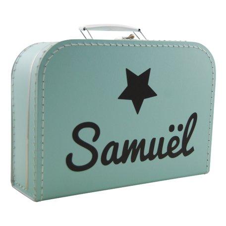Koffertje mint met naam