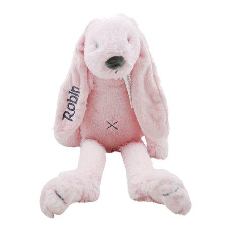 Knuffel Rabbit Richie Pink met naam