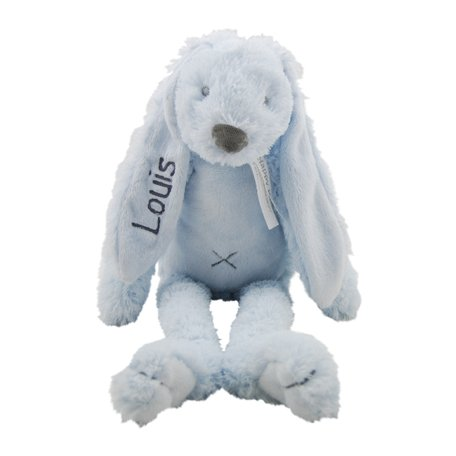 Knuffel Rabbit Richie Blue met naam