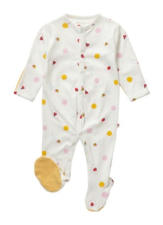 Babypakje lieveheersbeestjeprint