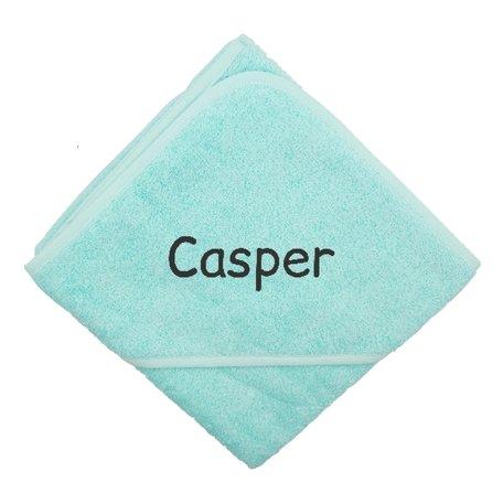 Badcape mint XL met naam