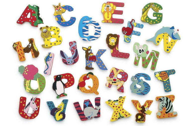 Mooie Houten Letters.Mooie Houten Dierenletters Als Cadeau Voor Geboorte