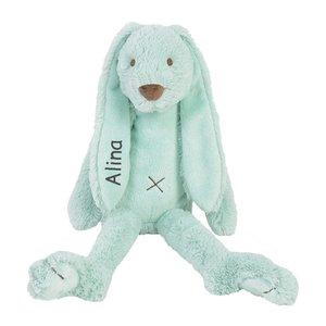 Knuffel Rabbit Richie BIG mint 58 cm met naam