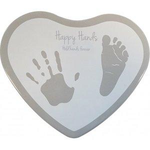 Happy Hands Hearts Hand en Voet print