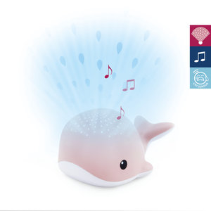 Baby Zazu lichtprojector Wally roze met muziek