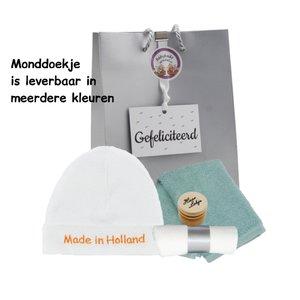 Babymutsje Made in Holland