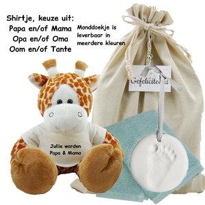 Baby Cadeauset Girafje Jullie worden