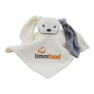 knuffeldoekje met logo timm food