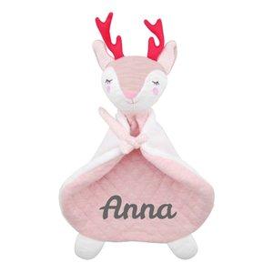 Knuffeldoekje Dreamy Deer met naam