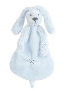 knuffeldoekje rabbit richie blue