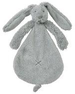 Knuffeldoekje Rabbit Richie grey