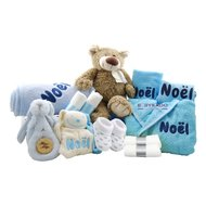Babymand XXL babyblauw met naam