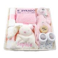 Babypakket babyroze met naam