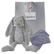 Knuffel Rabbit Richie Grey 38 cm