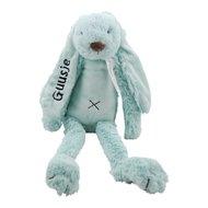 Knuffel Rabbit Richie mint met naam