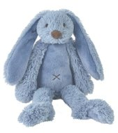 Knuffel Rabbit Richie Deep Blue 38 cm